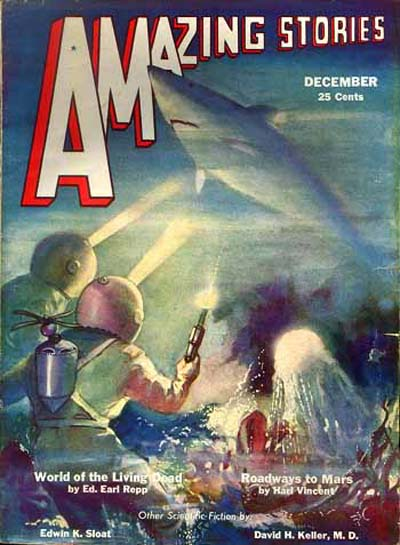 Amazing Stories, december 1932