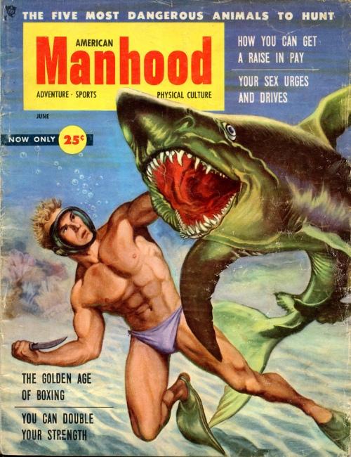 American Manhood, juni 1956