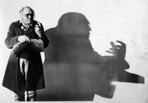 Werner Krauß som Dr. Caligari
