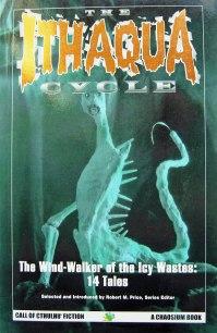 Paperback, Chaosium 1998. Forsiden er jævnt kedeligt illustreret af H. E. Fassl.