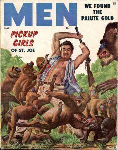 MEN, maj 1956