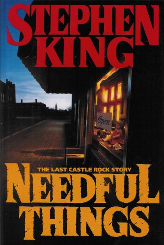 Hardcover, 1. udg. Viking Press 1991. Forside af Bill Russell