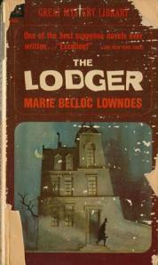 Paperback, Dell Books 1964. En Ripper-figur sniger sig ud i Londons tåge