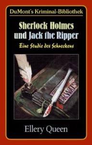 Paperback, DuMont 1967. Og Ripperens kniv på tysk