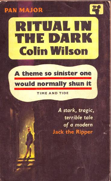 Paperback, Pan Books 1962. Colin Wilsons fortolkning af Ripper-myten