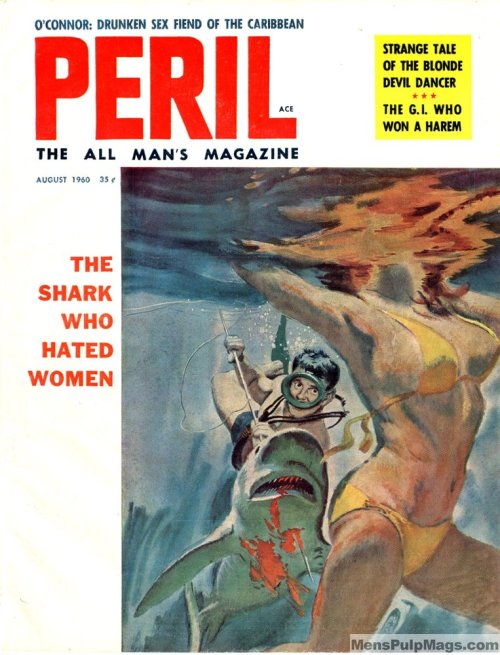 PERIL - The all man's magazine, august 1960