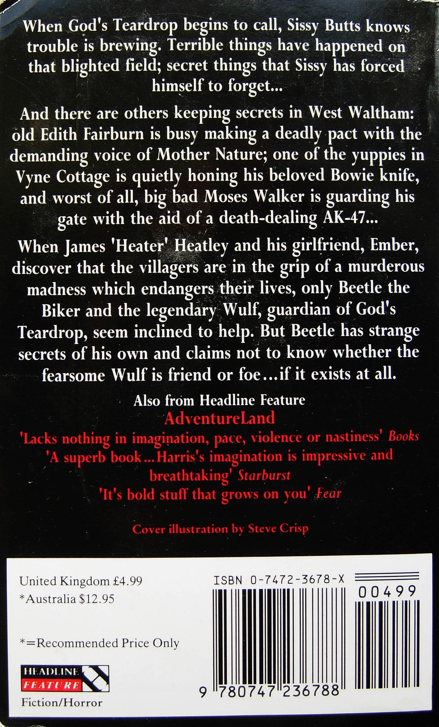 Paperback, Headline Book Publishing 1991