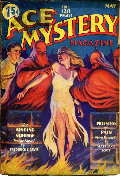 Ace Mysteries, maj 1936