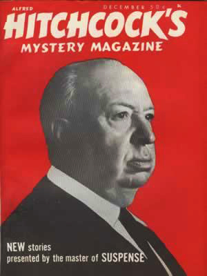 "Alfred Hitchcock's Mystery Magazine, december 1967, med Brennans novelle ""The Way to the Attic"""