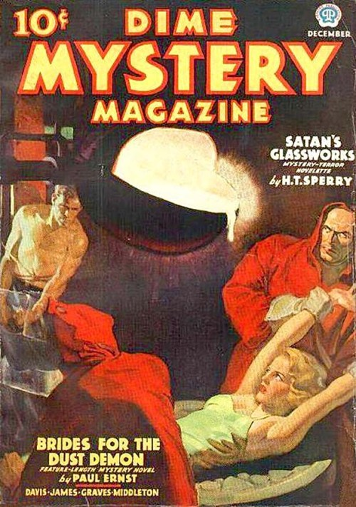 Dime Mystery, december 1936