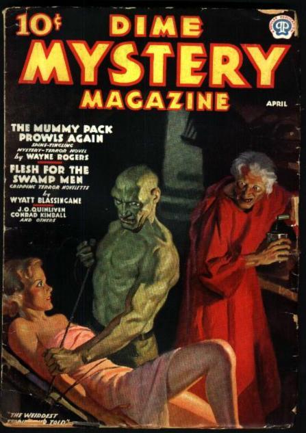 Dime Mystery, april 1937