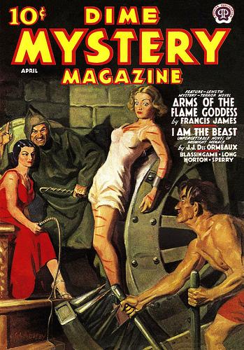Dime Mystery, april 1938
