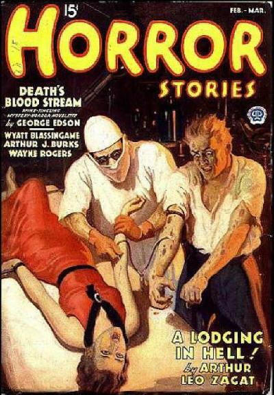 Horror Stories, februar-marts 1936