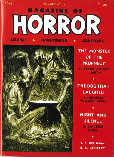 "Magazine of Horror, nr. 16 1967, med Brennans ""Mr. Octbur"""