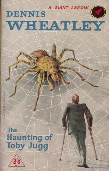 Paperback, Arrow Books 1959. Glen Steward står for den fede, men måske i forhold til handlingen lidt problematiske forside.