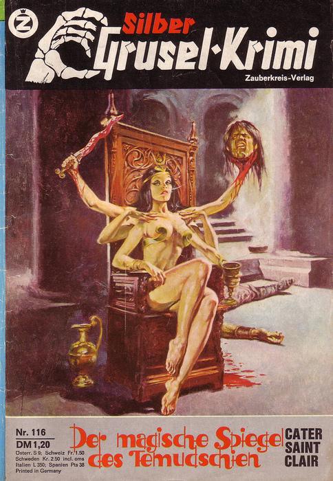 Grusel-Krimi, nr. 116 1976