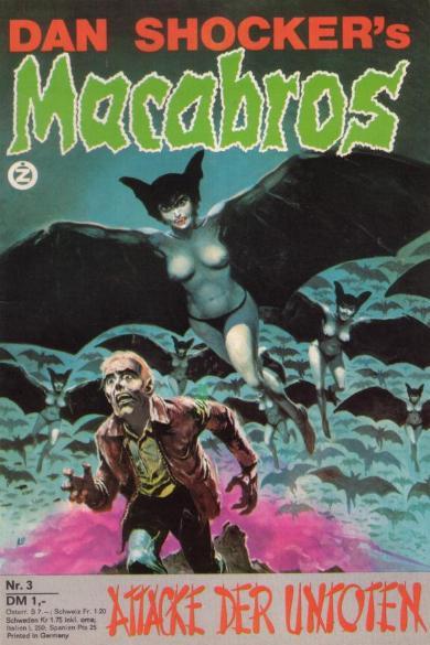 Macabros, nr. 3 1973