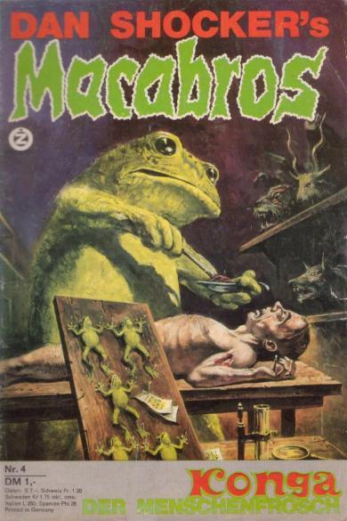 Macabros, nr. 4 1973