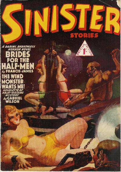Sinister Stories, april 1944