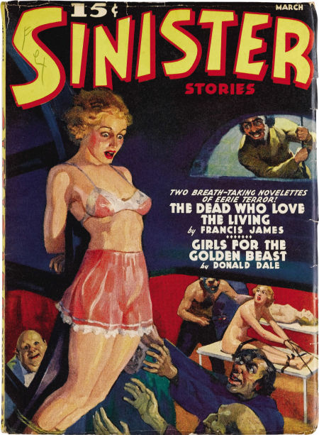 Sinister Stories, marts 1940