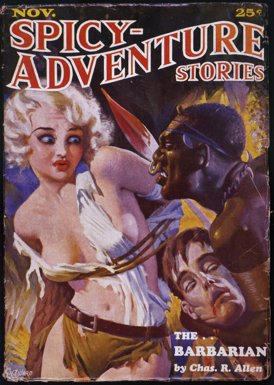 Spicy Adventure Stories, november 1934