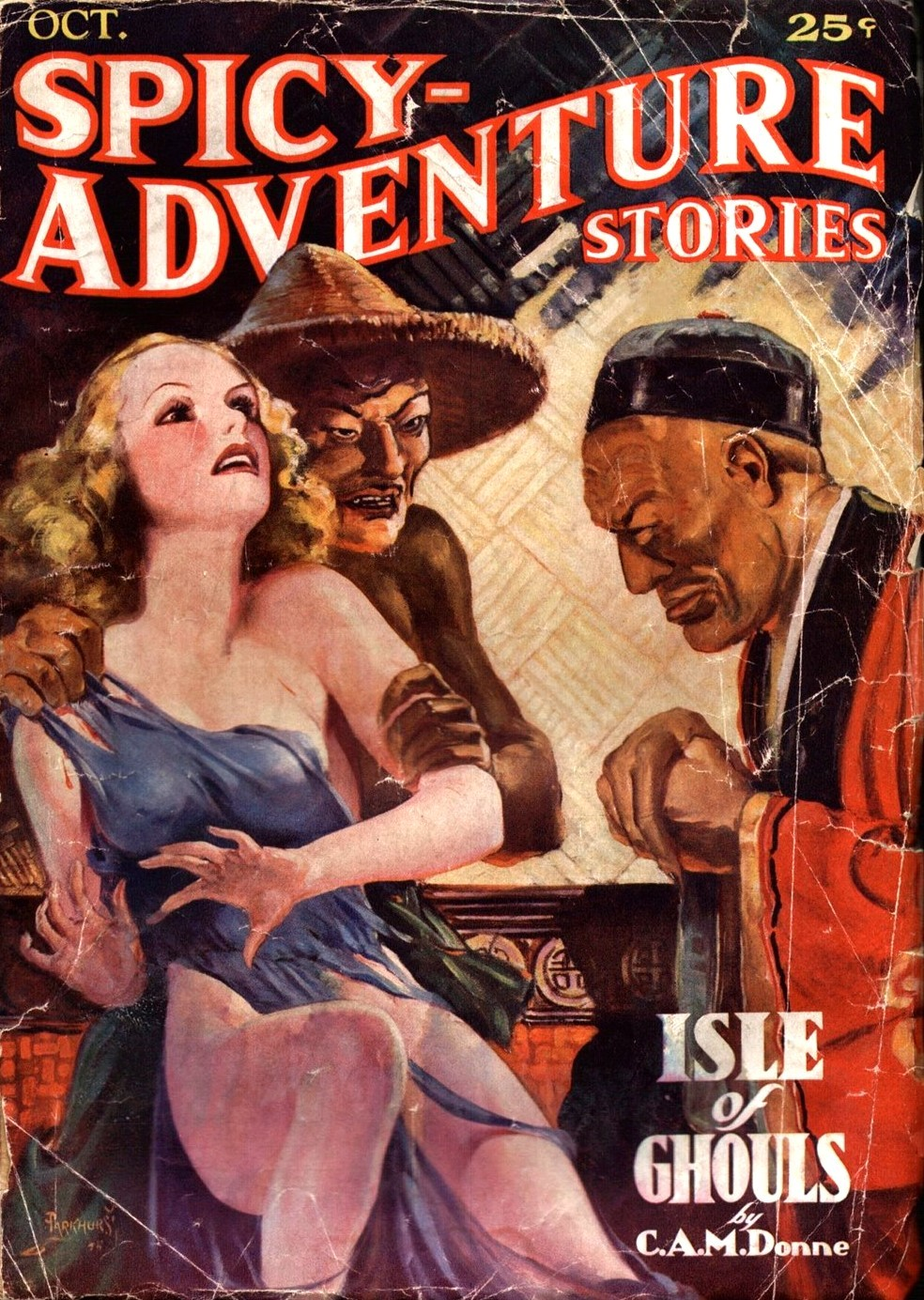 Spicy Adventure, oktober 1935