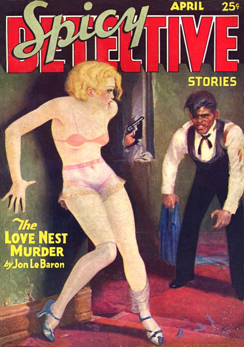 Spicy Detective Stories, april 1934