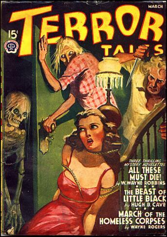 Terror Tales, februar 1941