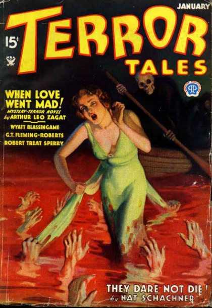Terror Tales, januar 1935