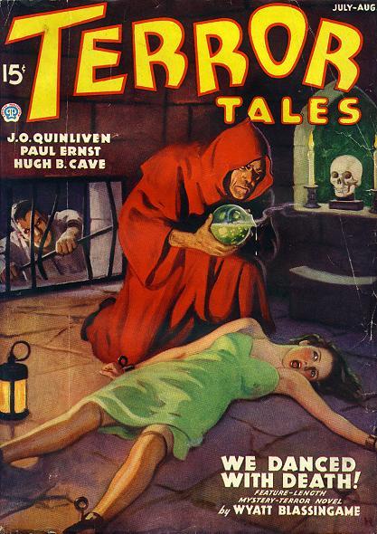 Terror Tales, november-december 1938