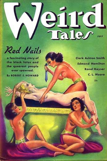 Weird Tales, juli 1936