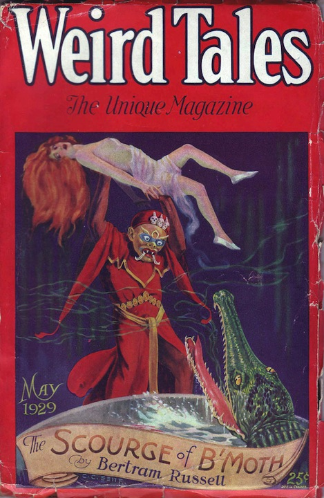 Weird Tales, maj 1929