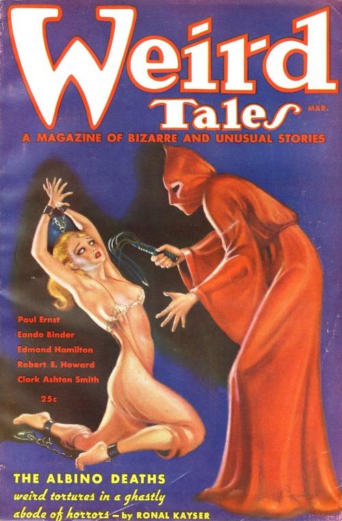 Weird Tales, marts 1936