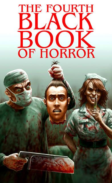 Paperback, Mortbury Press 2009. Illustration Paul Mudie. Læge-horror