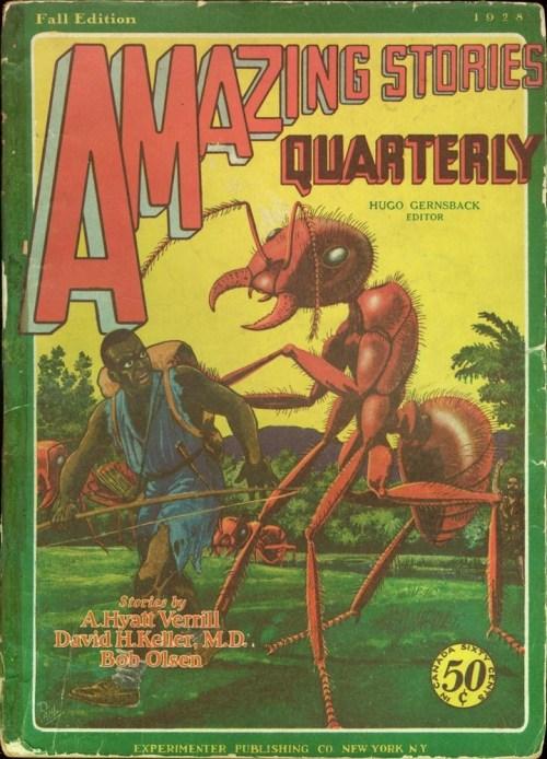 Amazing Stories Quaterly, efterår 1928. Stakkels fyr!