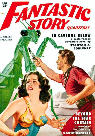 Fantastic Story Quarterly, efterår 1950