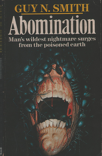 Paperback, Arrow Books 1987. Her har vi et virkelig fedt 80'er-cover