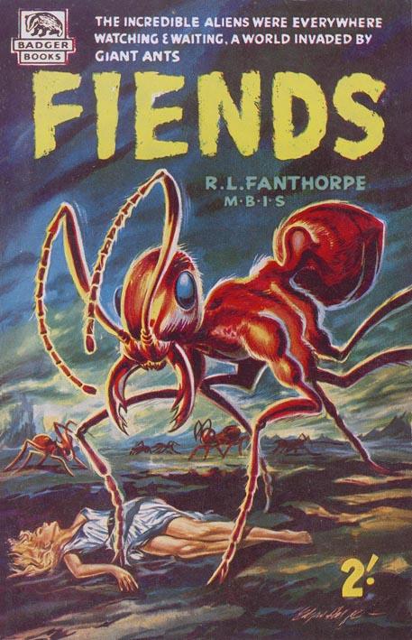 Paperback, Badger Books 1959. Som alle minstre er damer de foretrukne ofre