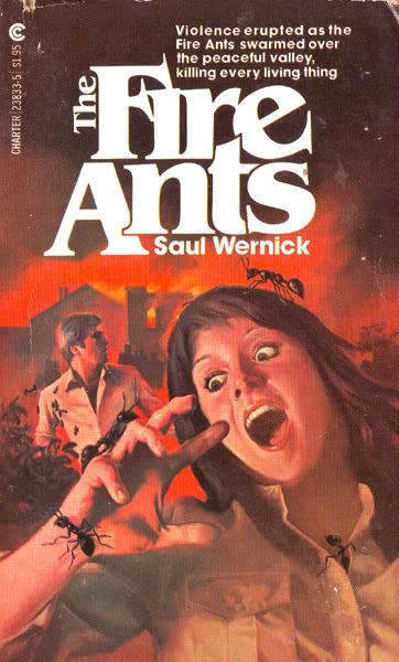 Paperback, Charter Books 1976. Ubehageligt, men måske ikke så skræmmende