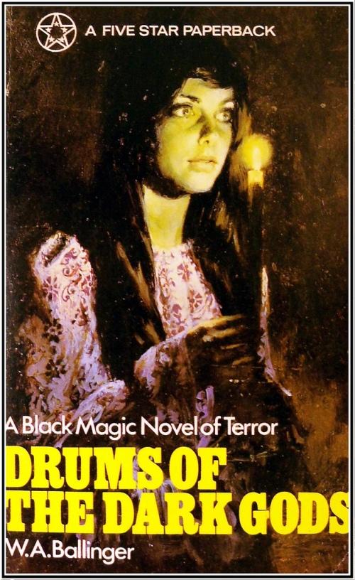 Paperback, Five Star Books 1972. Nu i gotisk indpakning