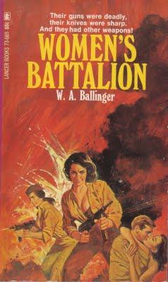 Paperback, Lancer Books 1967. Endnu en Ballinger-titel fra '67. Denne er faktisk en af hans hyppigst genoptrykte romaner. Action+kvinder=salg!