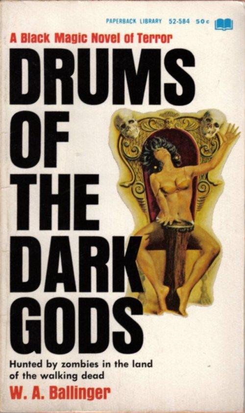 Paperback, Paperback Library 1967. Mere tromme, mere død, mere erotik