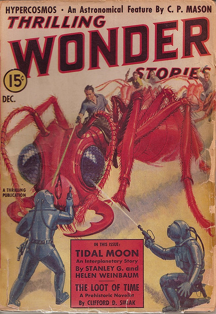Thrilling Wonder Stories, december 1938