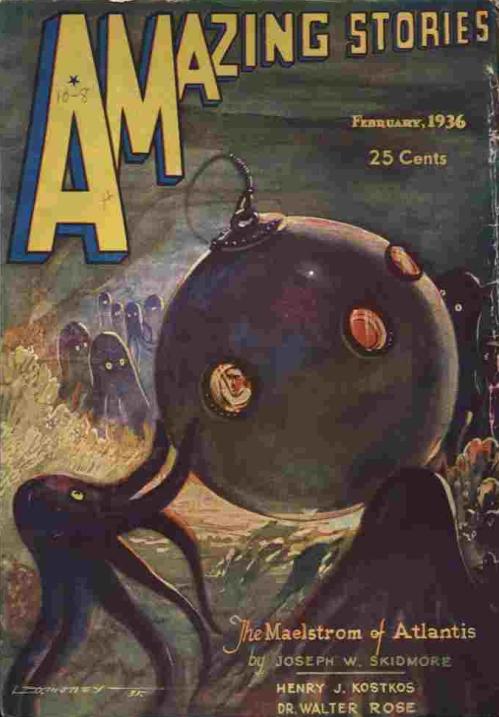 Amazing Stories, februar 1936