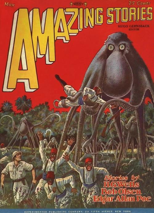 Amazing Stories, maj 1928