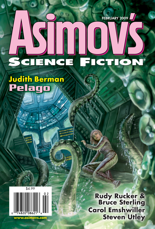 Asimovs Science Fiction, februar 2009