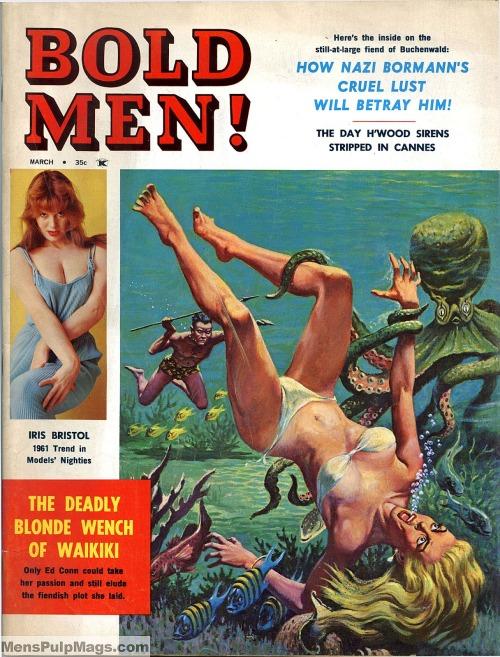 BOLD MEN, marts 1961