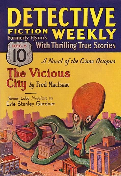 Detective Fiction Weekly, december 1931