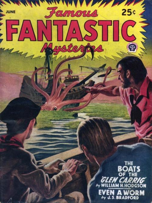 Famous Fantastic Mysteries, juni 1945