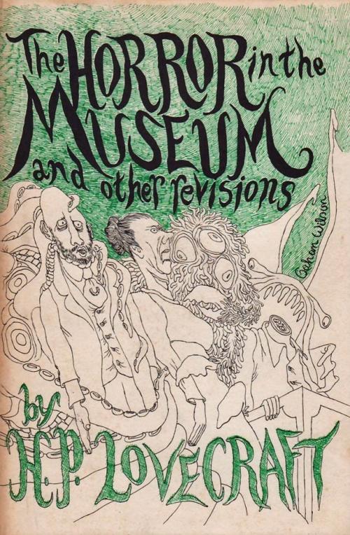 Hardcover, Arkham House 1970. Den fantastiske forside er naturligvis tegnet af Gahan Wilson